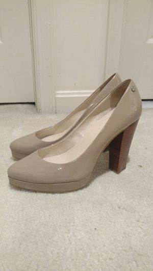Calvin Klein Wooden Platform Heels for Sale in Severn, MD