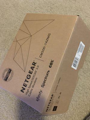 Brand new net gear modem for Sale in Sterling Heights, MI