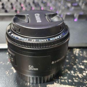Canon 50mm F1.8 EF for Sale in Sacramento, CA