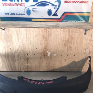 2002-2004 Toyota Camry Front Bumper for Sale in Eastvale, CA