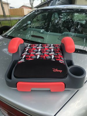 Disney Cars Store and Go Backless Booster Seat for Sale in Spring Hill, FL