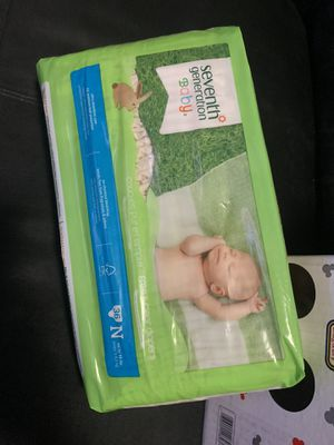 Diapers- Newborn and/or Size 1 for Sale in San Diego, CA