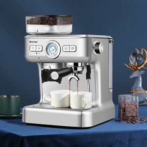 E19-7...... Espresso Cappucino Machine Coffee Maker Stainless Steel w/ Grinder & Steam Wand for Sale in Walnut, CA