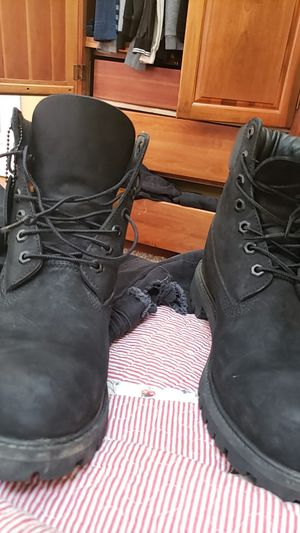 Men's timberland waterproof Boots Black 10073  for Sale in Lincolnia, VA
