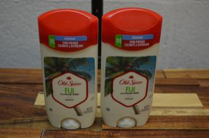 2 pack Old Spice Fiji with palm tree deodorant 3 oz each for Sale in Diamond Bar, CA
