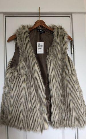 Faux Fur Vest Teens Sz Large / Women's Medium for Sale in Columbus, OH