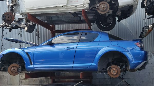 MAZDA RX8 PARTS FOR SALE