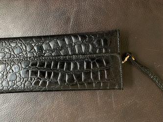 Black faux leather Wristlet for Sale in Renton,  WA