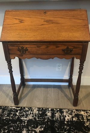 Beautiful wood secretary desk for Sale in Long Beach, CA