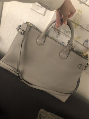 Burberry large leather house check tote shoulder bag for Sale in Arlington, VA
