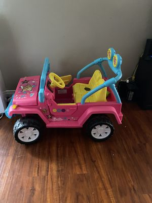 Barbie Jeep $100 for Sale in Los Angeles, CA