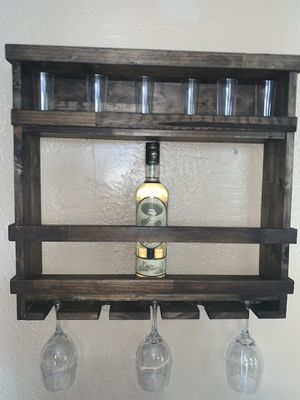 Hand made Wine rack for Sale in Riverside, CA