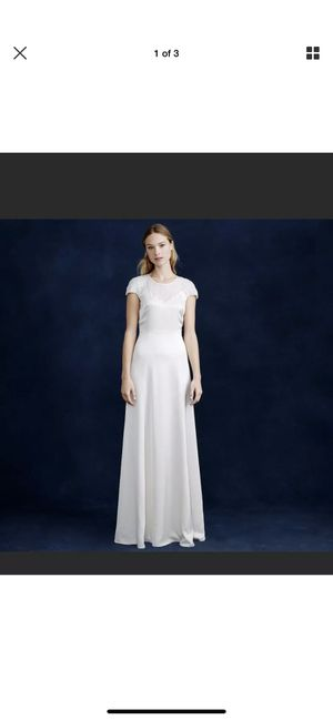 J. Crew wedding dress gown size 0 for Sale in Vancouver, WA