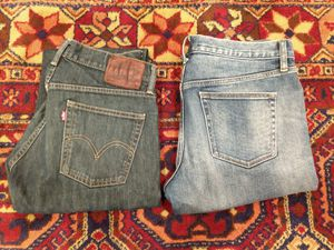Levi's and Uniqlo jeans (33x30) for Sale in Houston, TX
