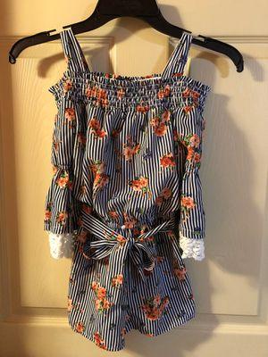 Girls size 8 long sleeve romper for Sale in Abilene, TX