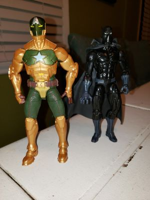 Black Panther and Hydra Supreme Captain America for Sale in Sylmar, CA