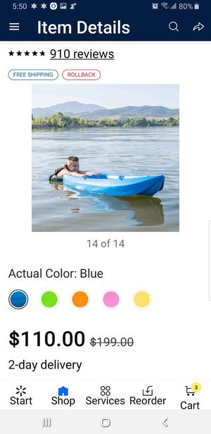 Lifetime young kayak for Sale in Bethlehem, PA