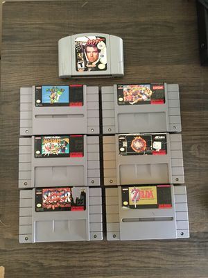 NINTENDO GAMES for Sale in Garden Grove, CA