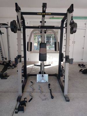 Gold's Gym Olympic weight Smith Machine for Sale in Modesto, CA