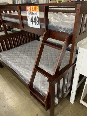 Twin/Full Bunk Bed for Sale in San Antonio, TX