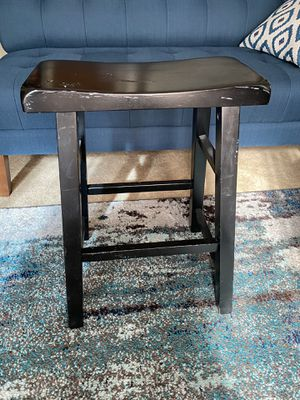 Wooden stool for Sale in Tacoma, WA