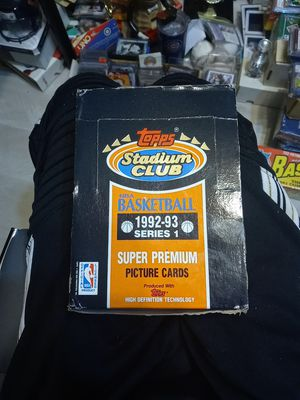 UNOPENED WAX BOX 92-93 for Sale in Plainfield, IL