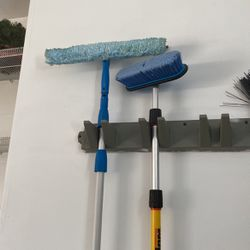 Long Handled Cleaning Tools Brush & Squeegee for Sale in Oswego,  IL