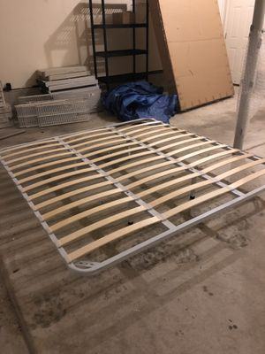 King Size bed frame- Brand New $80 for Sale in West Berlin, NJ