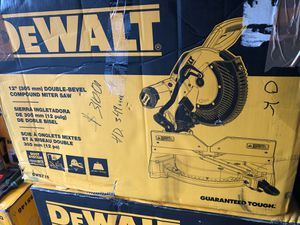 """Miter saw double bevel 12"""" for Sale in Santa Ana, CA"""
