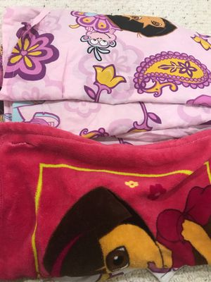 Dora and other twin sheets set for Sale in Chantilly, VA