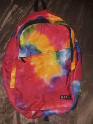 Neff tie dye backpack for Sale in San Fernando, CA