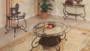 3 pcs console table ,coffee table,end table on sale 🎈🎈🎈🎈🎈🎈$399 for Sale in Fresno, CA