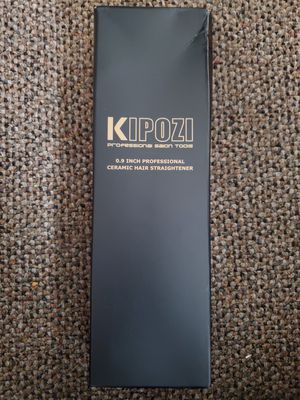 Kipozi .9 inch hair straightener for Sale in San Angelo, TX