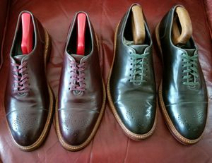Cole Haan Derby & Boots size 11.5/11 made in England for Sale in San Leandro, CA