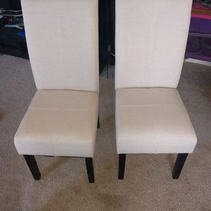 New Super Cushioned Dining Chairs Set Of 2 for Sale in Jonesboro, GA