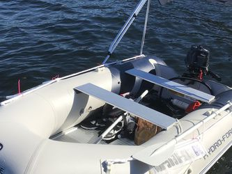 Brand New 11ft Inflatable Boat With 6Hp Outboard And Bimini for Sale in Seattle,  WA