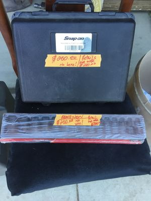 Snap-On Multimeter Digital and Snap-on Metric Socket Set..Brand New USA made.. for Sale in Riverside, CA