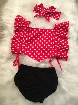 Toddler girl outfit 3 pieces size 3 years for Sale in Los Angeles, CA