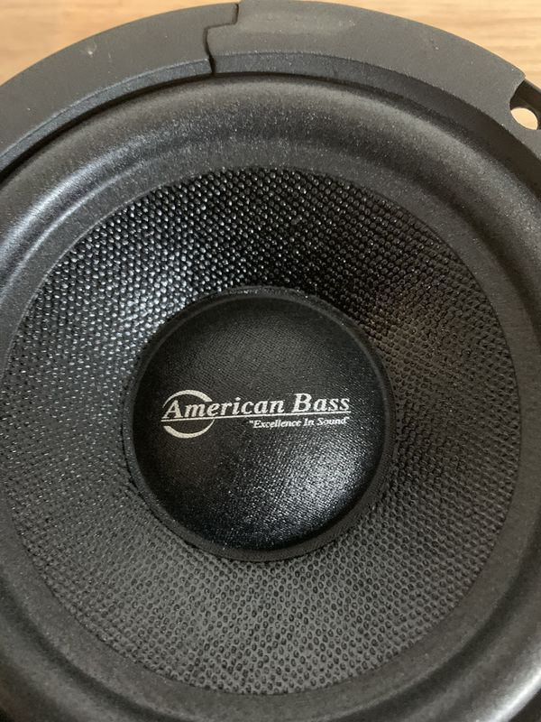 "5"" Sealed Back Midrange Speaker 200W 8 Ohm Pro Car Audio American Bass SQ 5C"