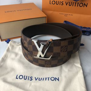 Louis Vuitton Damier Ebene Reversible Belt for Sale in Buford, GA