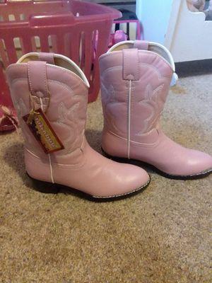 Girls pink cowboy boots for Sale in Wapakoneta, OH