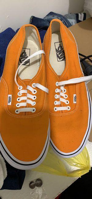 Orange Men Vans for Sale in Nashville, TN