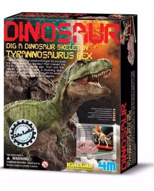 Used, 4M Dig A Dino T-Rex Tyrannosaurus Rex Fossil Dig Science Kit Science Party - NEW for Sale for sale  Chula Vista, CA