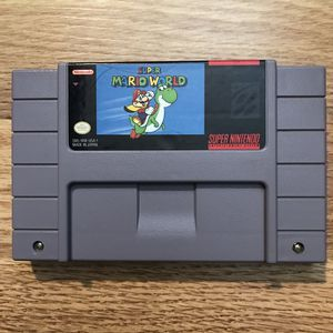 Super Mario World Super Nintendo SNES Game Only Tested & Working for Sale in Banning, CA