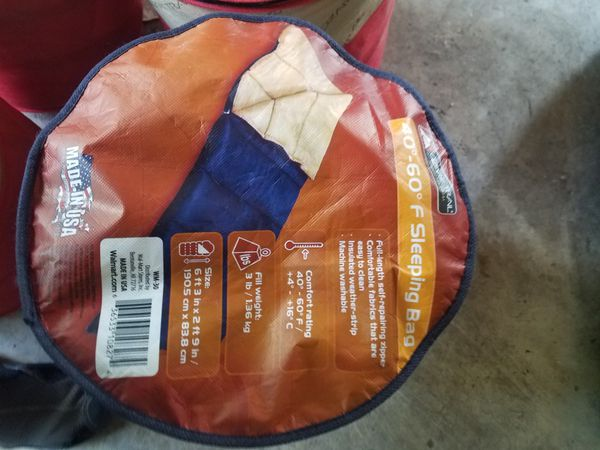 Tent 8 person, 4 sleeping bags, 1 extra 4 person older tent