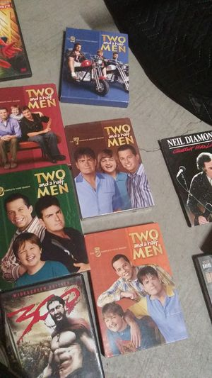 Season 1 2 3 5 and 7 Two and a Half Men DVD collection for Sale in Newport Beach, CA