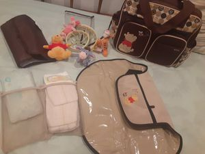 Diaper Bag Hangbag- Winnie The Pooh Multifunction for Sale in Kenneth City, FL
