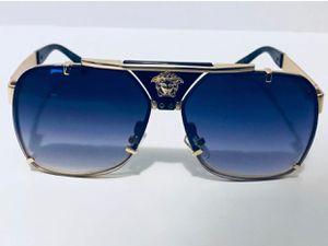 Versace Medusa Designer Gold Toned Polarized Sunglasses for Sale in Lilburn, GA