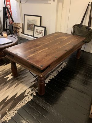 Wood Coffee Table for Sale in New York, NY