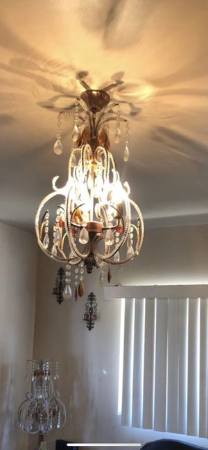 Chandeliers + matching lamps for Sale in Dearborn, MI
